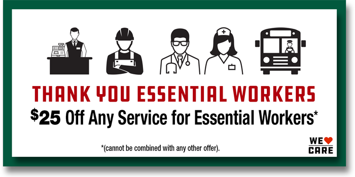 Essential Workers Coupon