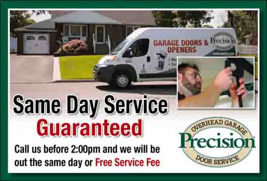 Same Day Service Guaranteed Before 2pm