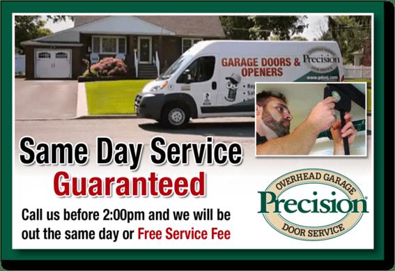 Precision Garage Door Service Opener Repair Central Pa